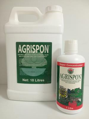 Agrispon organic fertiliser is a bio-stimulant that dramatically improves plant performance and/or yield.