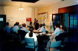 Organic fertiliser training sessions held in the Northern Territory in the late 1990s.