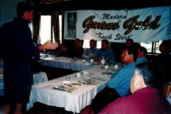 Organic fertilizer training sessions held in South Australia in 1999.